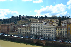 DSC_0335 (pjpink) Tags: italy reflection water river florence spring tuscany firenze arno 2011 pjpink