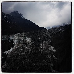 The Kawagebo #glacier on #Meili Snow Mountain in #Shangrila #China