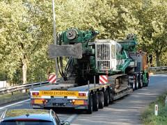 Volvo FM from van der Vlist heavy haulage Holland (capelleaandenijssel) Tags: zz 74 79 netherlands truck trailer lorry camion lkw convoi exceptionnel