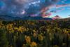 After Dark (Happy Photographer) Tags: sanjuanmountains colorado sunset autumn fall aspens trees uncompahgre national forest nature amyhudechek