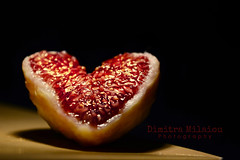 Taste LovE... (dimitra_milaiou) Tags: love heart red black night light shadows greek nature fruits fig you dark happy happiness smile eat food kitchen cook detail nikon d d7100 7100 greece athens city europe world planet earth tree bokeh life live still good nice beautiful moments cut pure shape color colour texture macro close up closeup reflections luxury precius taste sweet juicy soft geometry symmetry balance inside diagonal summer nikonflickraward