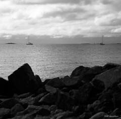 Hasselblad_309 (Timo Alatalkkari) Tags: hasselblad sonnar 150mm carlzeiss ilford panf id11 helsinki landscape cityscape sea