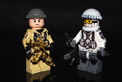 "ESF Sgt. ""Randomness"" (r. Randomness) Tags: food black modern war force desert lego lol awesome echo omega camo arctic prototype strike squad camoflauge ops m16 brickarms"