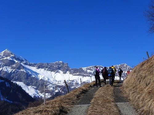 Vue sur la chaîne du Mont Charvin au Passieu 027