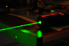 High Power Green Laser, Dark Background (1)