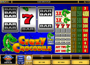 Crazy Crocodile slot game online review