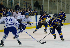 Caledonia Corvairs vs Dundas Blue Jan 28 2011 (Phil Armishaw) Tags: blue copyright ontario canada hockey phil c junior dundas caledonia 2011 corvairs armishaw