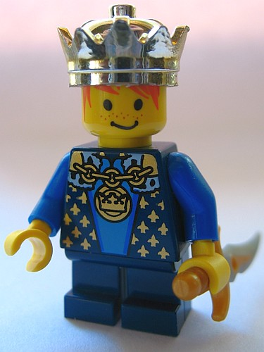 Custom minifig LEGO Modified Crown