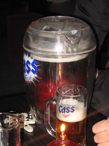 Cass in jug
