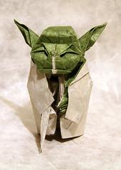 master yoda (nyanko sensei) Tags: star origami force with yoda you may master be jedi wars kawahata fumiyaki