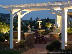 Backyard Pergolas & Patios - Low Volatge Landscape Lighting (Switzer's Nursery & Landscaping) Tags: minnesota landscape design landscaping glenn northfield switzers switzer 12volt landscapedesign designbuild hardscape uplights lowvoltage downlights hardscaping landscapelighting pathlights glennswitzer switzersnursery landscapedesigns theartoflandscapedesign switzersnurserylandscaping artoflandscapedesign