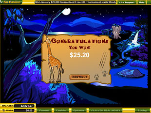 free Safari Hunt slot bonus prize