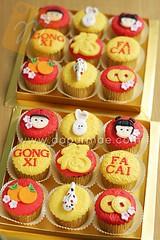 Imlek Cupcakes