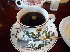 Cheese Cake & Coffee @Jashuumon (Phreddie) Tags: coffee cake japan sweets teahouse 110129 niigara chiiese
