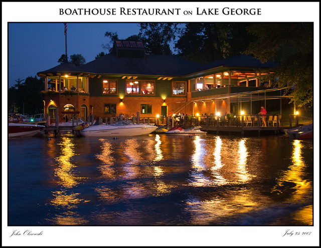 The Boathouse Restaurant - Lake George, NY