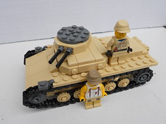 LEGO WW2 Panzer 1 Ausf B Prototype (The Brickologist) Tags: lego ww2 tanks panzer1 legoww2