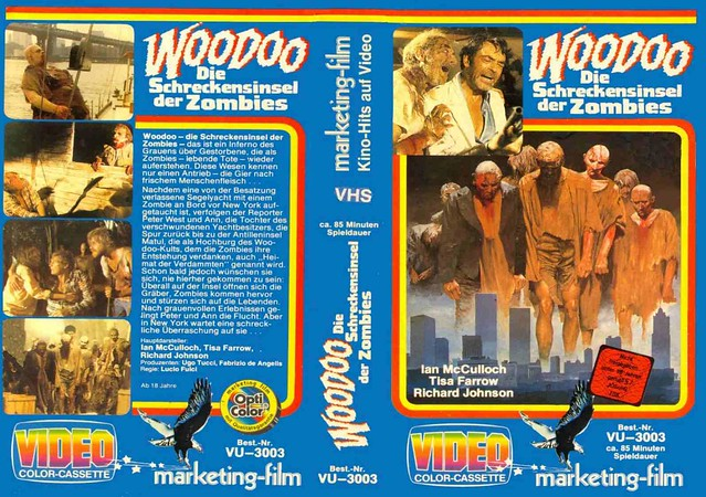 Voodoo (VHS Box Art)