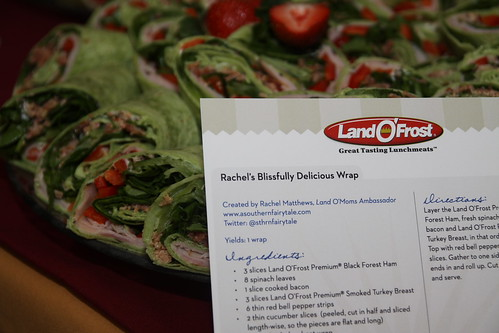Rachel's Blissfully Delicious REcipe Card