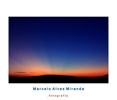 Raio Crepuscular (Marcelo-Miranda) Tags: sunset pordosol minasgerais canon ray setelagoas passeiofotogrfico canon450d marcelomiranda serradesantahelena canonxsi marceloalvesm marceloalvesmiranda setelagoasfotografia raioscrepuscular