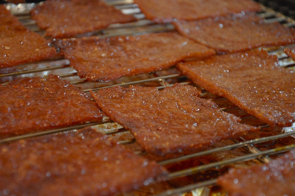 Homemade Bak Kwa 肉干