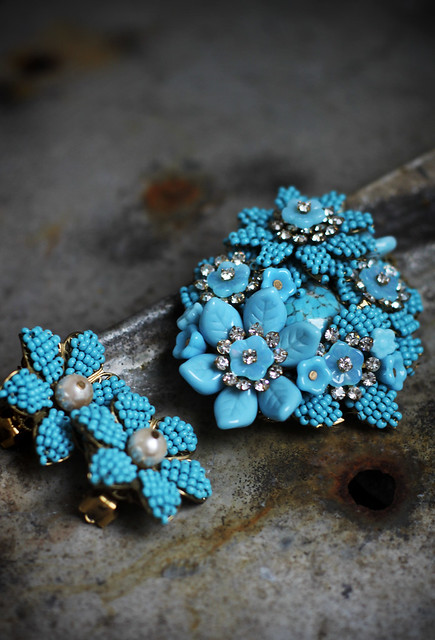 Machiko's vintage jewellery collection