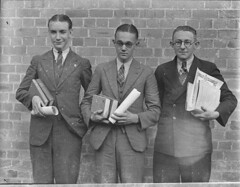 High school prize-winners, Canterbury Boys' High School. 9 May 1935, by Sam Hood (State Library of New South Wales collection) Tags: statelibraryofnewsouthwales