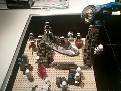dessert battle 1 (not entirely human) Tags: 6 dessert star lego 5 4 stormtrooper fi wars episode sci rebels tatooine