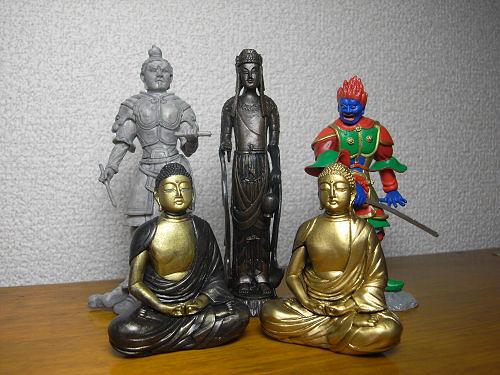 仏像ガチャガチャ最新作『和の心 仏像コレクション3』