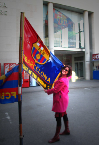Barça flag f*ck yeah!