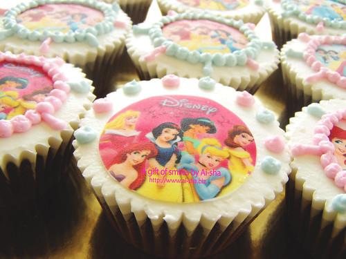 Cupcakes Disney Princes