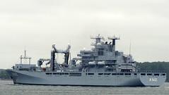 FRANKFURT AM MAIN (A 1412) (arnekiel) Tags: marine navy tender frankfurtammain bundesmarine multirole germannavy versorger versorgungsschiff class702