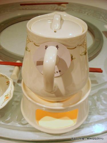 20110209 華泰飯店九華樓_19 茶