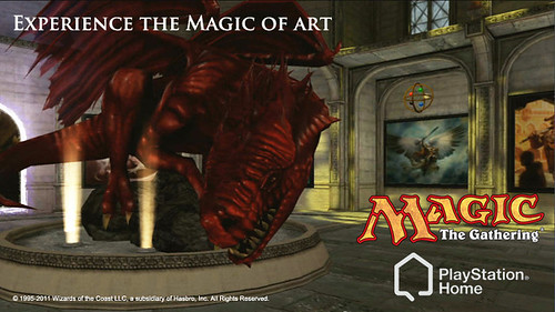 Magic: The Gathering in PlayStationHome
