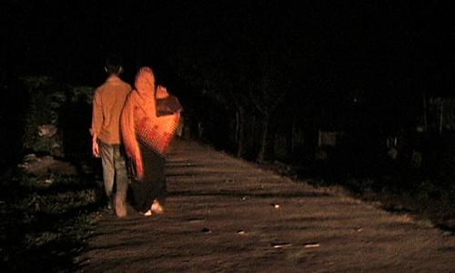 Piya walks home