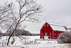 The Red Barn **EXPLORE** (Vicki Lund Photography) Tags: travel trees winter red vacation sky usa white snow cold tourism nature barn geotagged landscapes frozen nikon frost artist raw photographer seascapes view natural side fineart rustic maine newengland favorites poland naturallight stormy front explore northamerica portfolio february freelance snowcoveredtrees countryroads redbarns homesteads stumbleupon timberframe 2011 freelancephotographer d90 shingled farmsteads maineartist fineartprints travelphotographer nikond90 rusticbarns mainephotographer fineartlandscape greenbarns coldtrees mainetrees vickilundphotography colorsnatural fineartseascapes mainebarns copywrite wwwvickilundphotographycom httponfbmevickilundphotographywelcome mainegov vickilund greatmainevacations shingledbarns