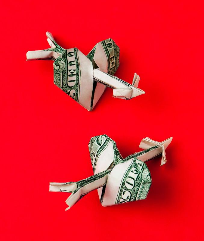 dollar valentine hearts