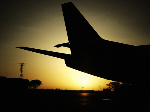 Sunshine on Nairobi aiport