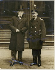 President Wilson and King George V of England (Woodrow Wilson Presidential Library Archives) Tags: france president palace wilson buckingham kinggeorgev parispeaceconference