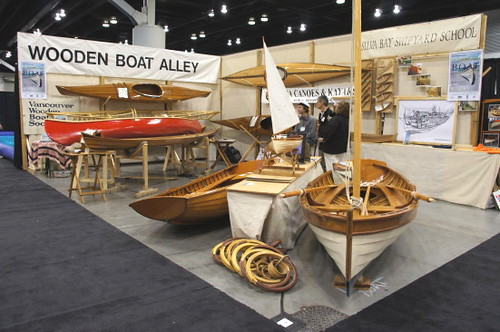 Woode Boat Alley, Vancouver Boat Show 2011 Pleasure Craft, Yacht, Sail Boat, GPS & Marine Navigation