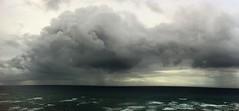 Waikiki rain clouds panorama (billsoPHOTO) Tags: ocean panorama favorite usa beach sunrise hawaii surf waves unitedstates pacific waikiki oahu pano favorites lookout pacificocean honolulu sets iphone iphone4 iphoneography instagram geotaggedhawaii