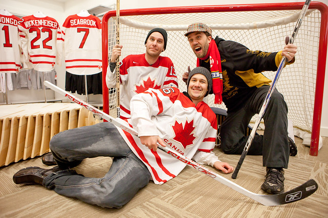 Dave Olson, Chris Walts and Bob Kronbauer - Hockey Day In Canada