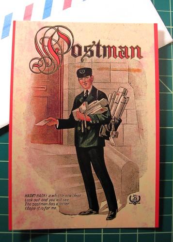 Postman postcard 3