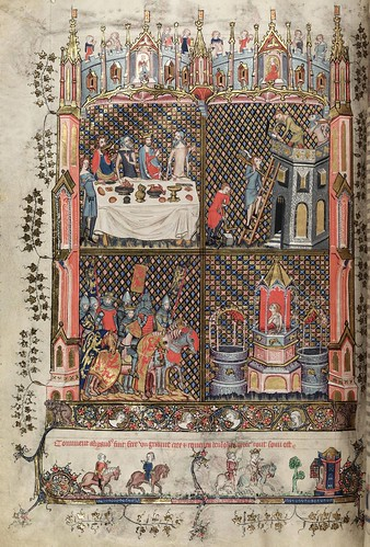006-folio 67 verso-The Romance of Alexander - MS. Bodl. 264 © Bodleian Library-University of Oxford 1999