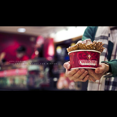 169/365 (brandonhuang) Tags: winter light red cold color ice cup colors stone lights hands strawberry dof hand sweet bokeh cream sugar 1750 tamron f28 hold creamery chessecake 1750mm brandonhuang