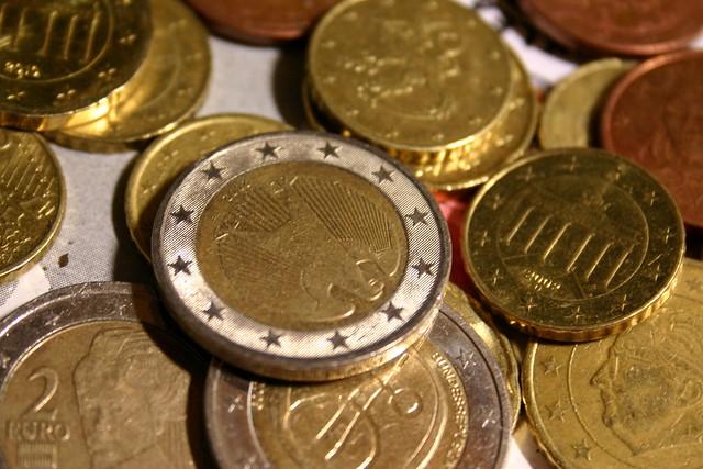 Random euro coin collection IX