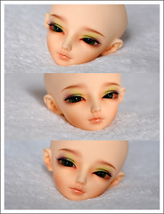 Preview - FL Minifee Woosoo for Elsii (***Andreja***) Tags: girl ball doll bjd custom fairyland msd jointed mnf andreja faceup minifee woosoo