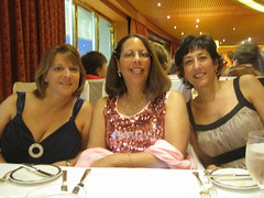 Deb, Laura and I on formal night