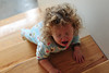 Sad Toddler (nateOne) Tags: stairs iso3200 50mm toddler sad crying schnivic dottie pajamas 50mmf18 nikond700 180secatf45