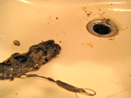 fixing the bathroom sink drain
