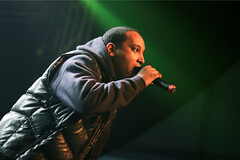 Rapper Jesse Jones på By:Larm